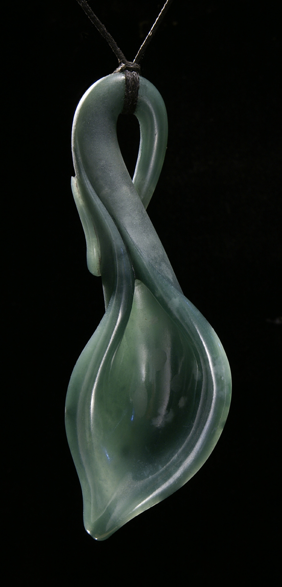 LilyPod18 Blue Jadeite Lily Pod Finished